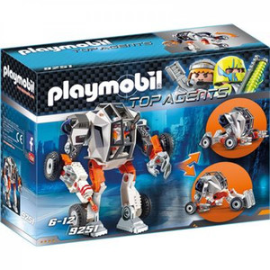 PLAYMOBIL 9251 - Top Agents - Agent T.E.C.'s Mech