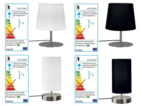 livarno lux tischleuchte led von lidl ansehen. Black Bedroom Furniture Sets. Home Design Ideas