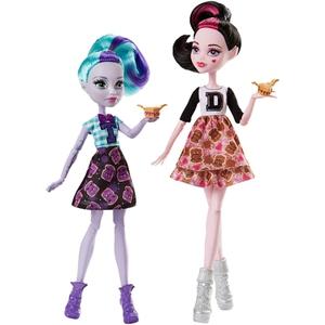Monster High - Draculaura und Twyla, 2-tlg. (FGD25)