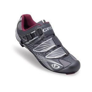 Giro Damen Rennradschuh Solara, grau/weiß