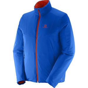Salomon Herren Primaloft® Outdoorjacke Drifter, blau/orange