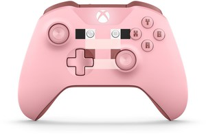 Microsoft Xbox One Wireless Controller Minecraft Pig Special Edition