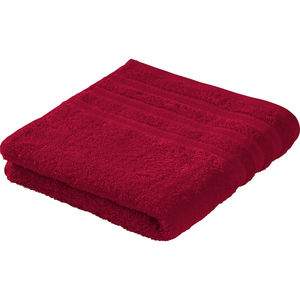 "Möve Handtuch ""Bold Stripes"", ruby"