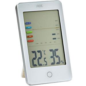 """ADE Hygrometer mit Schimmelalarm """"WS 1700"""", weiß"""