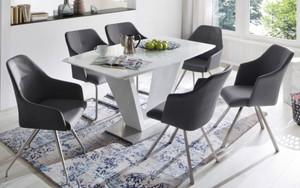 Stuhlgruppe Madita/Ilko weiß