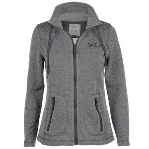 Damen Fleece-Jacke mit Stehkragen
