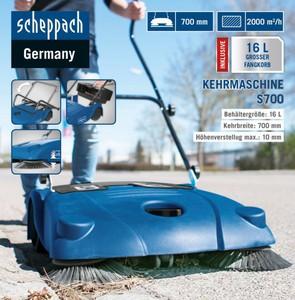 Scheppach Kehrmaschine S700