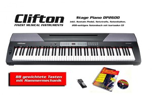 Clifton Stage Piano DP 2600