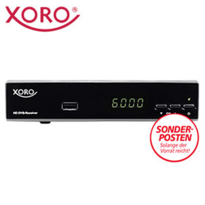 HDTV-Kabel-Receiver HRK 7656 • 4-stelliges Display • HDMI-/Scart-/USB-/Ethernet-Anschluss