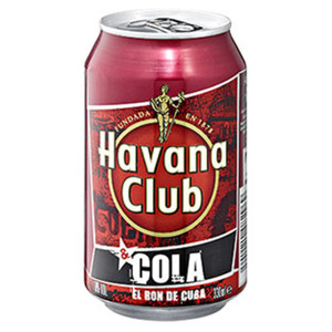 Havana Club + Cola 10 % Vol., jede 0,33-l-Dose
