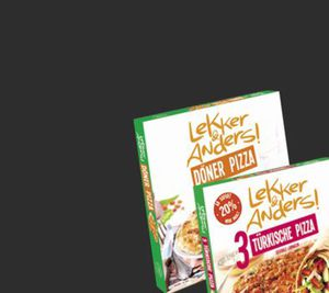 Lekker & Anders! Döner Pizza 325 g oder türkische Pizza 540 g