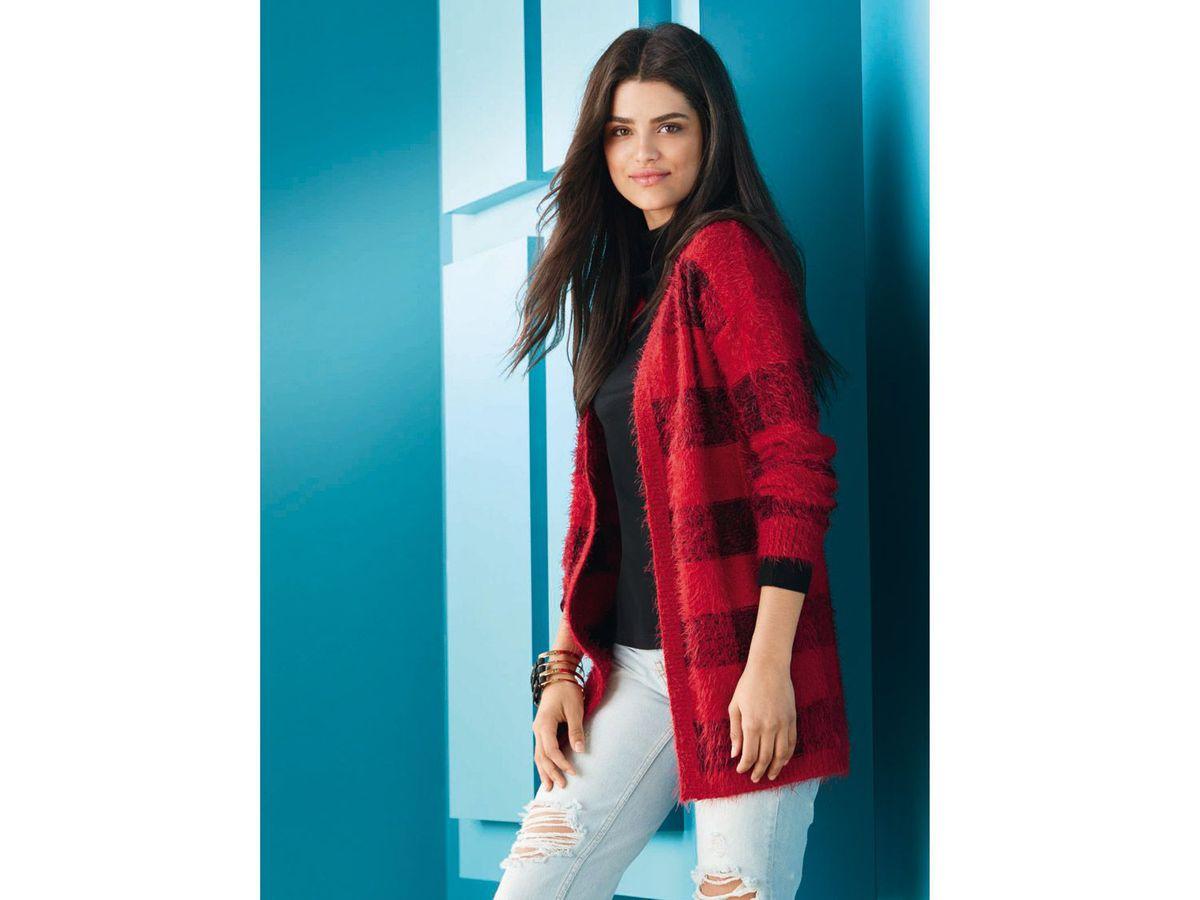 Bild 5 von ESMARA® Damen Strickjacke/Pulloverkleid
