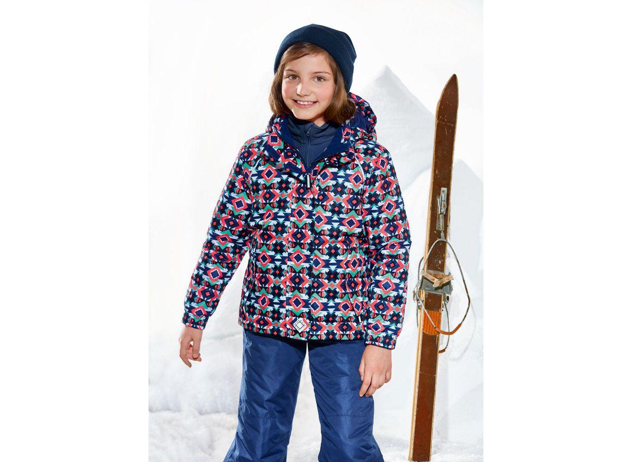 Bild 5 von CRIVIT® Kinder Mädchen Skijacke