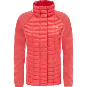 The North Face Damen Isolationsjacke Thermoball Hybrid, rot