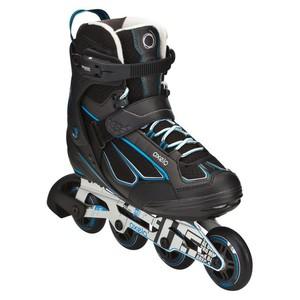 OXELO Inline-Skates Inliner Fit 5 Herren schwarz/blau, Größe: 41