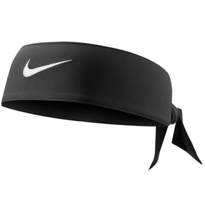 Schweißband Tennis Stirnband schwarz NIKE
