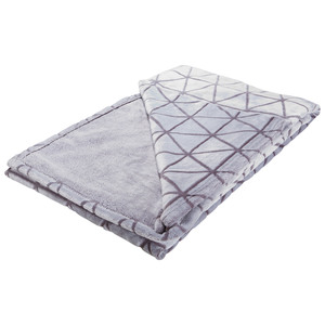 Microfaserdecke Supersoft Flanell Nordic (140x200, grau)