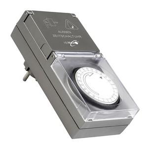 Elektromechanische Tages-Zeitschaltuhr für aussen