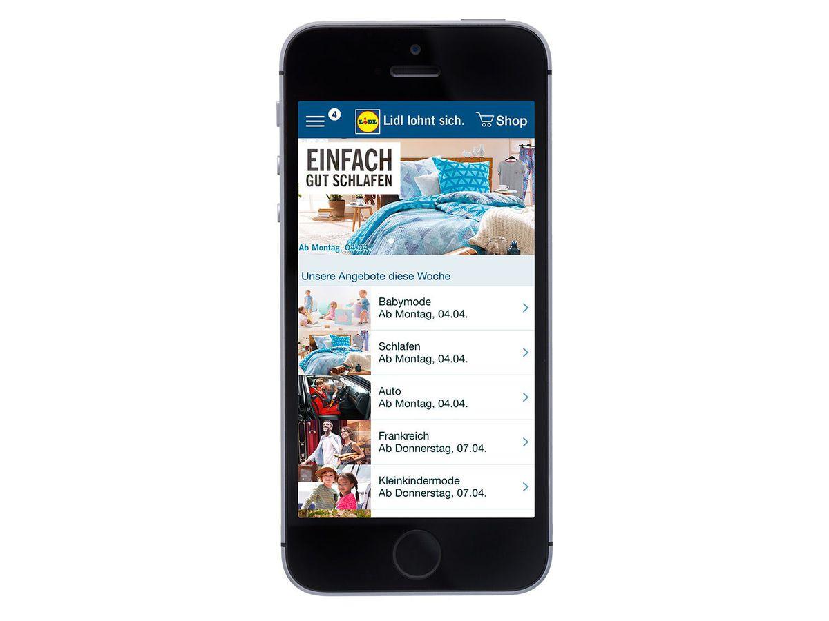 Bild 2 von Apple Smartphone iPhone SE 32 GB Grau
