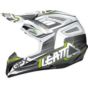 Leatt            GPX 5.5 Composite V03 Schwarz/Weiß/Lime