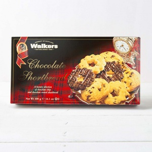 Walkers Chocolate Shortbread Selection 400g 37,48 € / 1000g