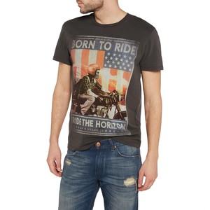 Wrangler            Born to Ride T-Shirt phantom