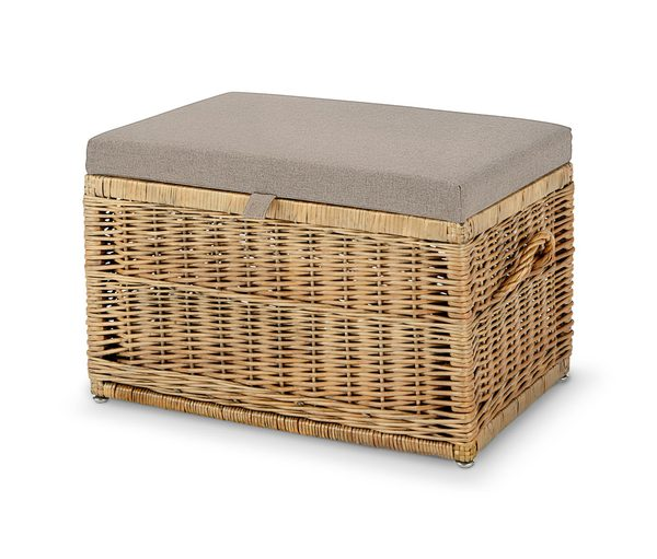 sitztruhe mit polster von tchibo ansehen. Black Bedroom Furniture Sets. Home Design Ideas