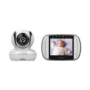 MOTOROLA   Babyphone mit Kamera MBP36SC, 300 m