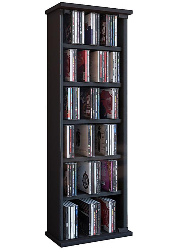 Cd Aufbewahrung vcm regal dvd cd rack medienregal medienschrank aufbewahrung