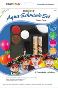 "Snazaroo Aqua-Schmink-Set ""Piraten-Party"""