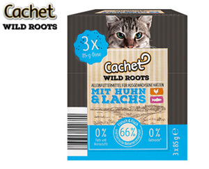 Cachet WILD ROOTS 3 x 85 g Dose
