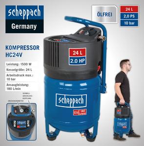 Scheppach Kompressor HC24V