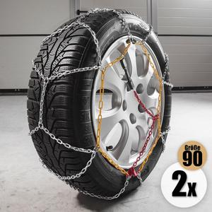 "Diamond Car Schneeketten ""Alpin"", Gr. 90, 2er Set"