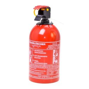 Feuerlöscher Pulver mit Halterung 1 kg
