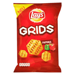 Lay's Grids Paprika Kartoffelsnack 90g