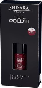 SHISARA Beauty Nail Polish 04 (Dark Cherry)