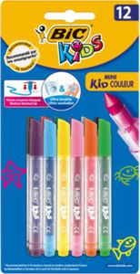 Mini Kid Couleur Filzstifte, 12 Farben