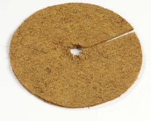 Kokosmatte (rund, Pflanzenschutz)