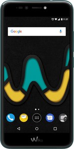 Wiko Upulse Smartphone deep bleen