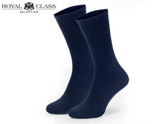 ROYAL CLASS SELECTION Business-Socken aus Wolle/Baumwolle