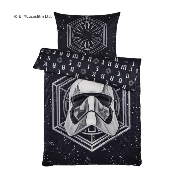 star wars fleece bettw sche von aldi nord ansehen. Black Bedroom Furniture Sets. Home Design Ideas