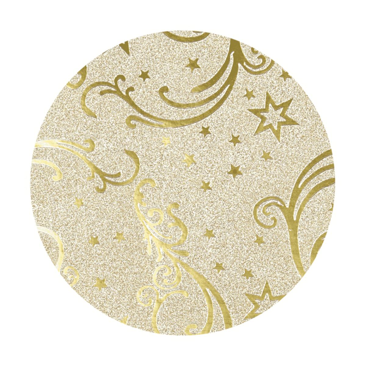 Bild 2 von LIVING ART Glitter-Hologramm-Geschenkpapier