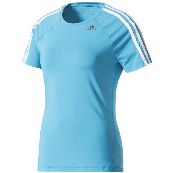 adidas Damen Climalite T-Shirt, petrol von