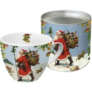 ppd Porzellan-Becher Big Mug Santa is near