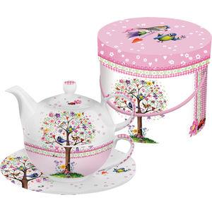 ppd Tea-4-one-Set Love Tree