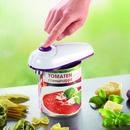 Bild 2 von Gourmetmaxx Vollautomatischer Dosenöffner, weiß/lila