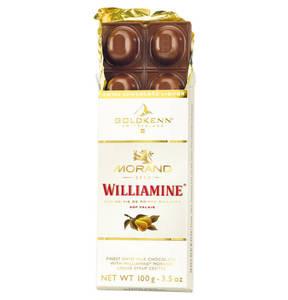 Goldkenn             Williamine Morand Schokolade, 100g                  (2 Stück)
