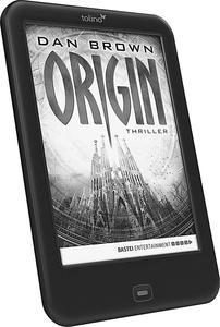 "tolino shine 2 HD eBook-Reader + eBook ""Origin"" / Dan Brown"