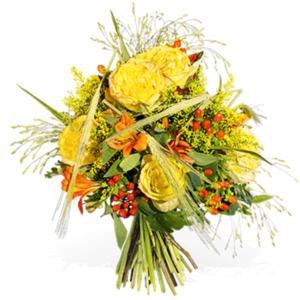 Sonniger Herbstgruß - | Blumen von Fleurop