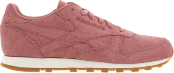 Reebok CLASSIC LEATHER CLEAN EXOTICS - Damen Sneakers